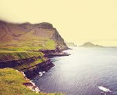 stock photo of faroe islands  - Faroe islands - JPG
