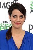 LOS ANGELES - MAR 1:  Natalie Morales at the Film Independent Spirit Awards at Tent on the Beach on