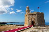 Ciutadella Castell de Sant Nicolas Castillo San Nicolas in Ciudadela Balearic Islands