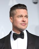 LOS ANGELES - MAR 2:  Brad Pitt at the 86th Academy Awards at Dolby Theater, Hollywood & Highland on