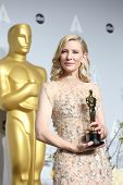LOS ANGELES - MAR 2:  Cate Blanchett at the 86th Academy Awards at Dolby Theater, Hollywood & Highland on March 2, 2014 in Los Angeles, CA