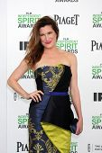LOS ANGELES - MAR 1:  Kathryn Hahn at the Film Independent Spirit Awards at Tent on the Beach on March 1, 2014 in Santa Monica, CA