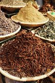 stock photo of cassia  - morrocan herbs flowers spices  - JPG