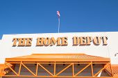 JACKSONVILLE, FL-MARCH 1, 2014: A Home Depot store in Jacksonville. The Home Depot is the largest home improvement retailer in the United States, ahead of rival Lowe's.