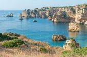Dona Ana Beach at Lagos, Portugal