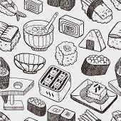 Japanese Sushi Pattern
