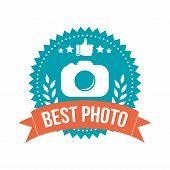 Simple Best Photo Banner Badge