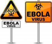 Ebola Virus Area Sign