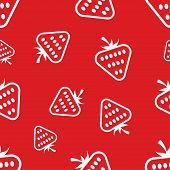 Pattern Circuit Strawberries