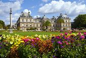 Jardin Du Luxembourg In Paris