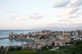 View Of Harbour Of Castellammare Del Golfo Town, Sicily