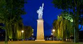 Replica Of The Statue Of Liberty In Paris