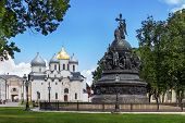 Monument To The Millennium Of The Russian Statehood, Veliky Novgorod