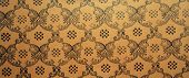 Vintage Brown Damask Seamless Pattern Background
