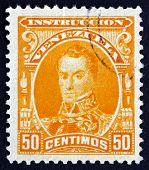Postage Stamp Venezuela 1904 Simon Bolivar, Portrait
