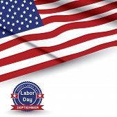Labor Day, United States of America.vector