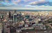 City of London skyline view