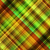 art abstract geometric diagonal pattern background in bright orange, green, gold and brown colors