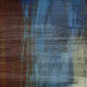art abstract colorful silk textured blurred background in blue and brown colors