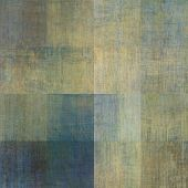 art abstract geometric textured colorful background with square in beige and blue colors