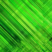 art abstract monochrome diagonal lines pattern; acrylic background in green colors