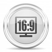 16 9 display internet icon