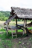 Hut In Countryside, Thailand