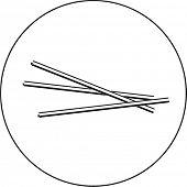 drinking straws symbol