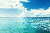 Caribbean sea and perfect sky
