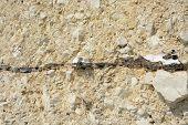 Sedimentary Rock Strata. Chalk