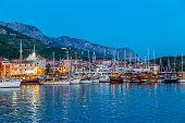 Makarska by night