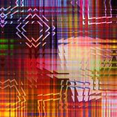 art abstract geometric textured colorful background with square in red and violet colors