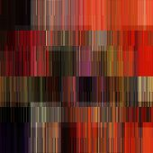art abstract colorful geometric pattern; tiled background in orange and red colors