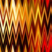 art abstract colorful zigzag geometric seamless pattern background in red, orange, gold and brown co