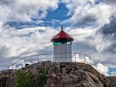 Little Lighthouse In Lysekil, Sweden