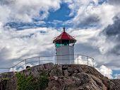 Little Lighthouse In Lysekil, Sweden
