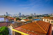 Xiamen, China cityscape from Gulangyu Island.  ATTN REVIEWER: See an Admin about this batch (re:case