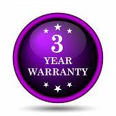 3 Year Warranty Icon