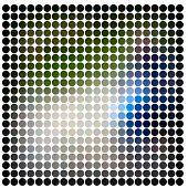Dots abstract raster background