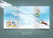 vector flyer template for business