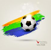 vector background on the football theme