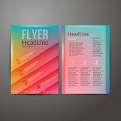 Abstract Brochure Flyer design