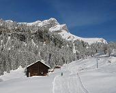 Ski Slope And Eggstock