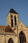 Ile De France, The Historical Church Of Vetheuil