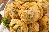 Homemade Cheddar Cheese Biscuits