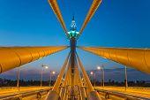 Extradosed Prestressed Concrete Bridge In Bangkok, Thailand