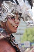 Transvestite, Gay Pride London 2010