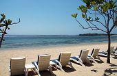Bali - Nusa Dua Beach Chairs