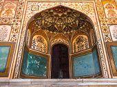 Delicate Decoration At Ganesh Pol