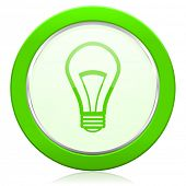bulb icon light bulb sign